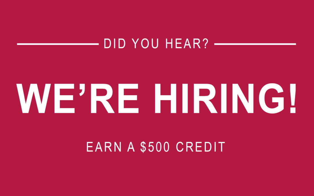 Wilshire is Hiring. Refer a Qualified Candidate and Earn $500!
